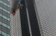 Fire at  Donald trump Tower leaves one civilian dead, six firefighters by minor injuries