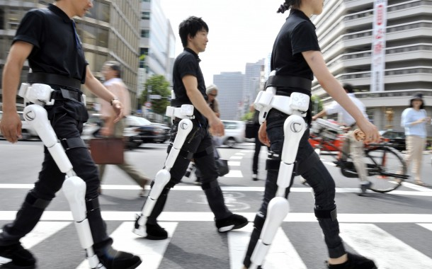 Modern technology: cyborgs enable paralyzed to walk again