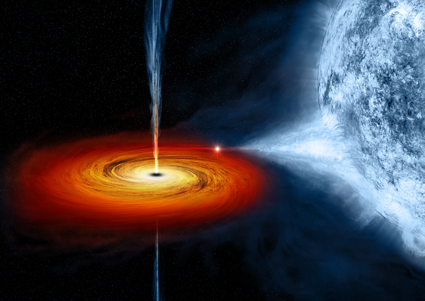 Scientists discover a new massive stellar black hole